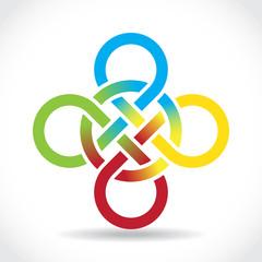 Celtic symbol, illustration