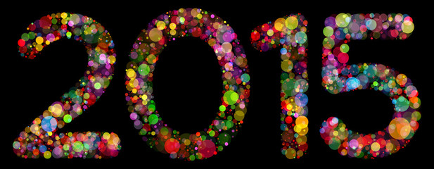 Happy new year 2015 celebration background