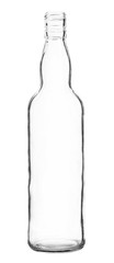 Simple Glass Bottle isolated on white background