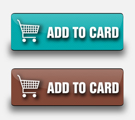 Add to card web buttons