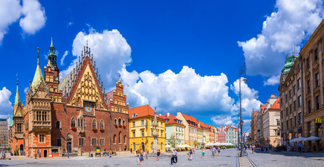 City Hall in Wroclaw Wall mural
