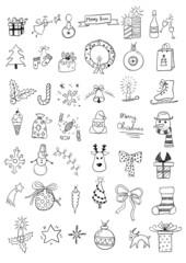 Set of Christmas Doodles