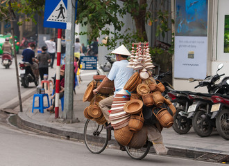 Life in Hanoi, Street vendors in Hanoi's Old Quarter