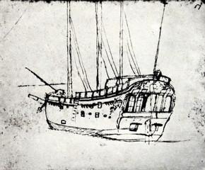 HMS Endeavour - Cook's research vessel