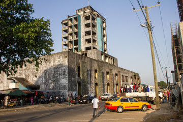 Monrovia Hotelruine