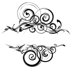 ornate decorative background for text