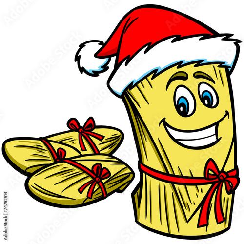 """""""Christmas Tamales"""" Imágenes de archivo y vectores libres"""