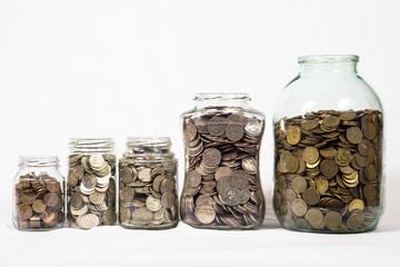 монеты в банках