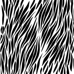 Black and white zebra background