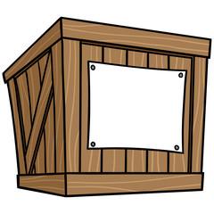 Crate Cartoon