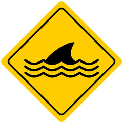 Dangerous Sea Life Sign