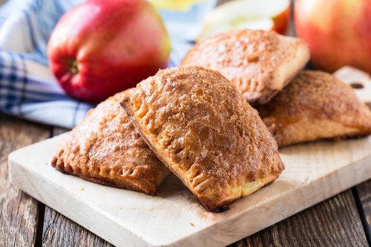 Mini apple cinnamon strudel