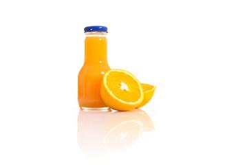 Orange juice with natural orange