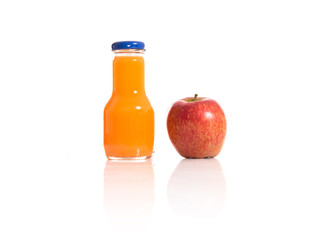 Apple juice with natural apple