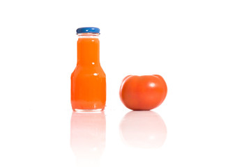 Tomato juice with natural tomato