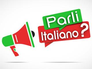 megaphone : parli italiano