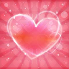 Heart Lovely Colorful Design