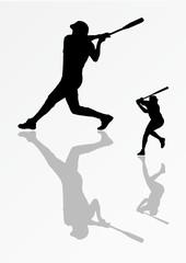 baseball riflesso