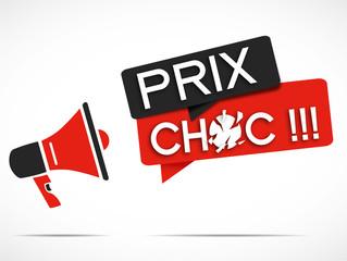 mégaphone : prix choc
