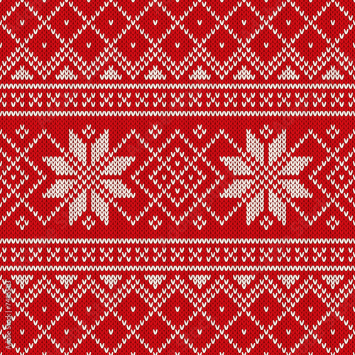 Knitting Pattern Xmas Jumper :