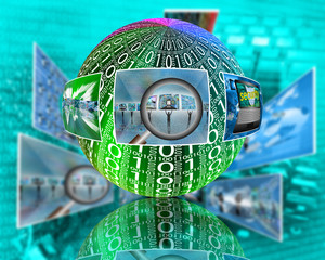 sphere binary code