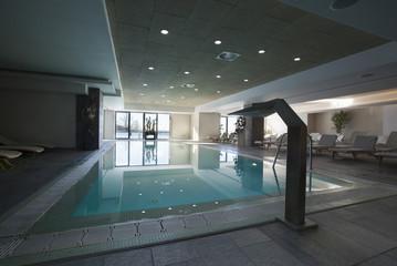 hotel interior spa pool