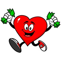 Heart with Money
