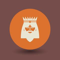 King symbol, vector
