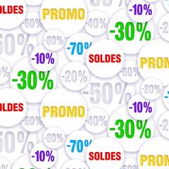 Pattern -Promotion porcentages