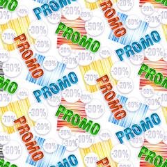Pattern - Promotion couleurs primaires