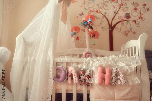 Как украсить детскую кроватку своими руками новорожденного