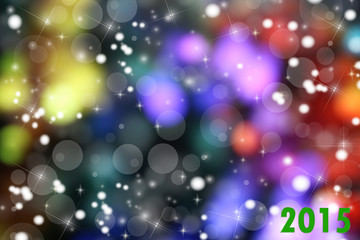 2015 colorful background