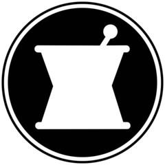 Mortar and Pestle Symbol