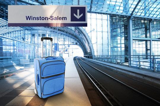 Departure for Winston-Salem