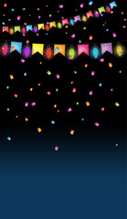 Wall Mural - party background