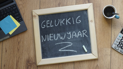 Happy new year in Dutch