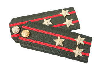 Shoulder straps colonel of soviet army