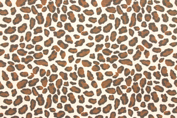 Leopard fabric background