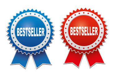 Bestseller labels. Vector