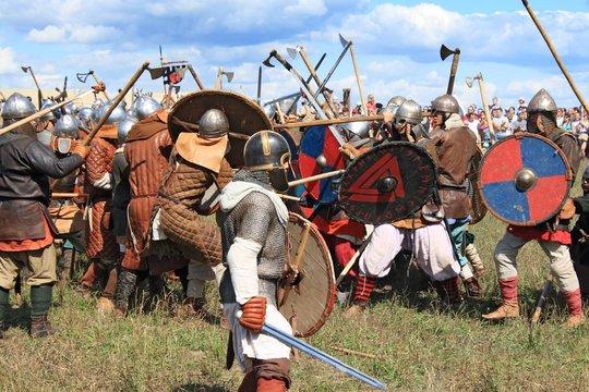 Medieval battle show Voinovo Pole (Warriors' Field)