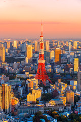 Photo on textile frame Tokyo Tokyo, Japan.