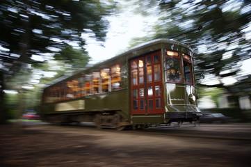 Streetcar New Orleans Garden District