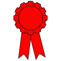 Red Award Ribbon
