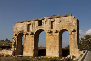 Ancient stone arch in Lycia