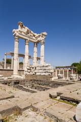 Pergamum. Ruins of the Temple of Trajan, 117-118 AD