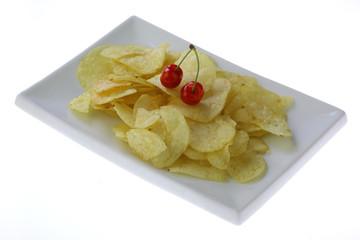 chips i czereśnie