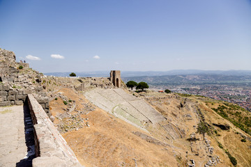 Acropolis of Pergamum. Antique Theatre, II century BC
