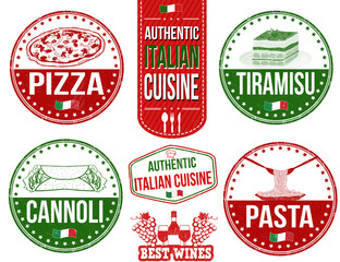 Authentic italian food stamps