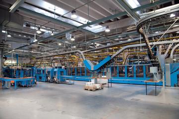 Conveyor belt for newspapers