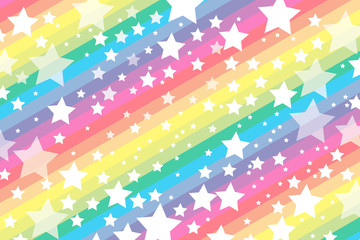 #Background #wallpaper #Vector #Illustration #design #free #free_size #charge_free #colorful #color rainbow,show business,entertainment 背景素材壁紙,銀河,星空,縞,縞々,ストライプ,星,星屑,スター,天の川,七色,虹色,虹,レインボー,パーティー,デコレーション